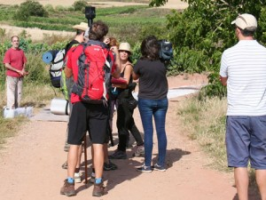 Video recording in Ventosa Camino 360 degree